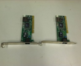 QTY2 Lot Compaq Ethernet Network LAN Card 142127-406 10/100 Mbps PCI - $19.99