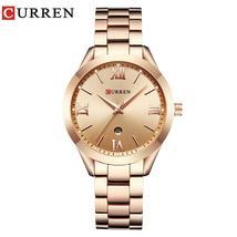 CURREN 9007 Top Luxury Brand Women Quartz Watch Ladies wristwatches feminino Cas - $37.56