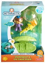 Fisher-Price Octonauts Shellington and The Swell Shark Action Figure Pla... - $14.99