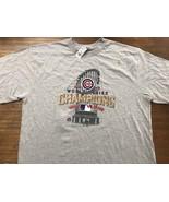 2016 CHICAGO CUBS 2XL World Series Champions T-shirt New MLB NWT - $18.99