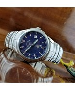 New Vintage Mens POLO Coutura All Stainless Steel Watch Beverly Hills Polo  - $95.00