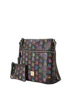 Dooney & Bourke Signature Crossbody Bag with Medium Wristlet - $228.00