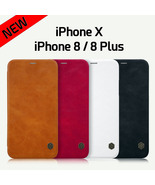 iPhone X/10 TOP Quality GENUE Leather Case Cover Protective Case /Men/Women - $13.99