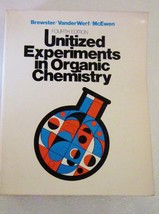 Unitized experiments in organic chemistry 1977 brewster 01 thumb200