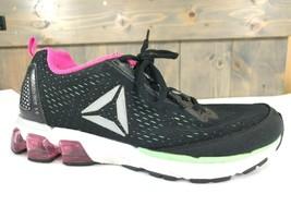 Reebok Jet Dashride 5.0 (Black/Mint/Solar Pink/White) Women's Shoes Size... - $24.70