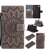 XYX Wallet Case for Sony Xperia L1,[Sun Flower] Premium Flip PU Leather ... - $9.88