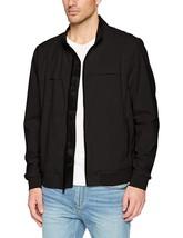 Calvin Klein Mens Logo-print Track Jacket, Color: Black, Size: Large  MSRP 178 $ - $120.00