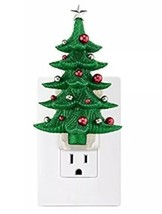 Bath & Body Works Glittery Christmas Tree Wallflower Outlet Plug In - $11.58