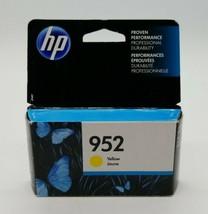 HP OfficeJet Pro 952 Yellow Ink Cartridge Authentic Original OEM EXP June 2019 - $24.63