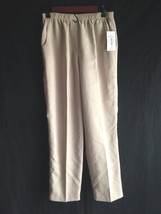 New ALLISON DALEY Pants Elastic Waist Flat Fron... - $11.60