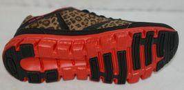 Crazy Train RUNWILD14 Black Red Cheetah Sneakers Size Ten image 8