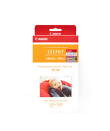 Canon Color Ink Cassette+4R 4x6 in Paper Set (54Sheets) (for CP1200/CP91... - $36.99