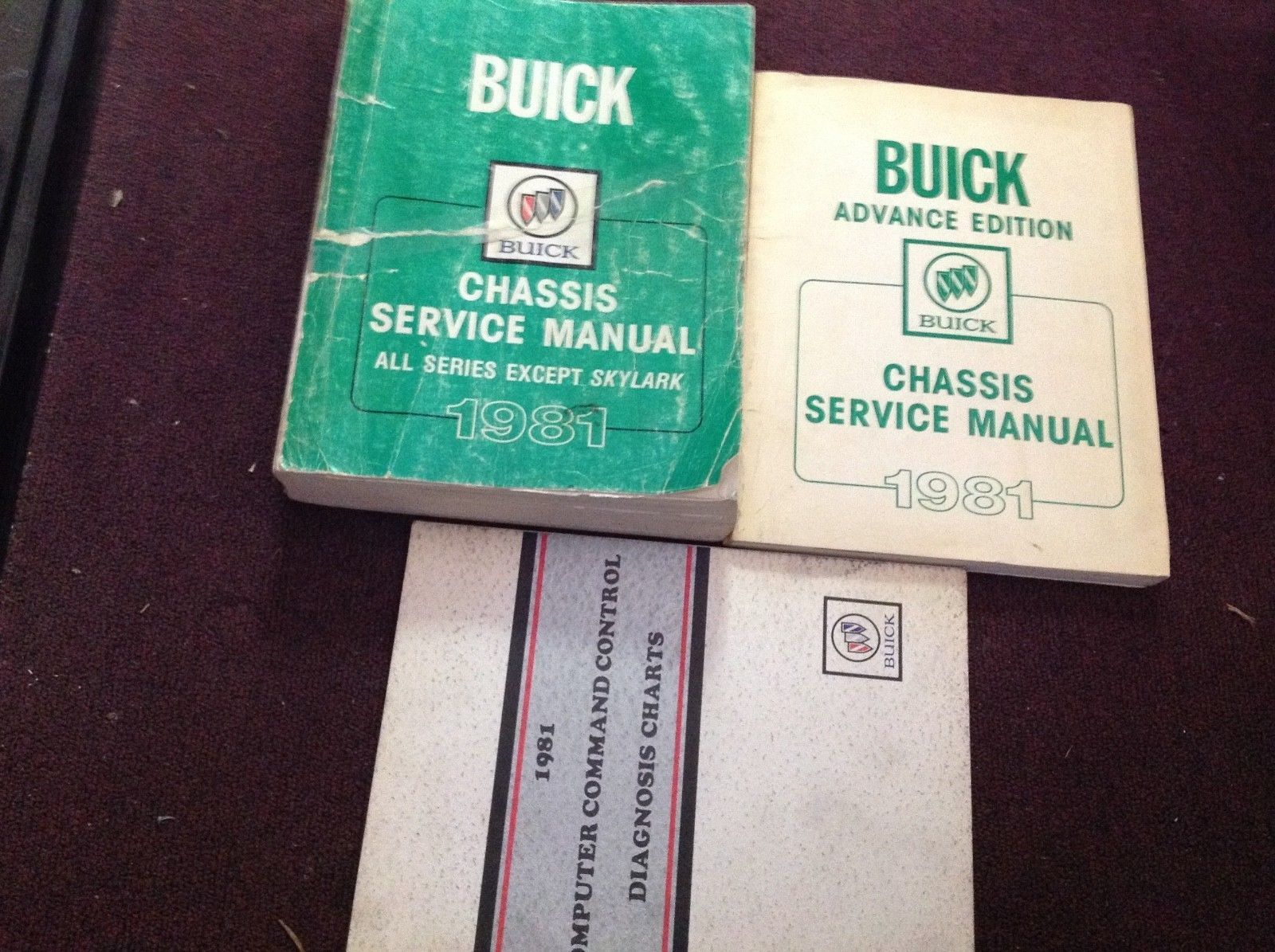 Primary image for 1981 Buick LESABRE RIVIERA REGAL SPORT WAGON Service Shop Repair Manual Set