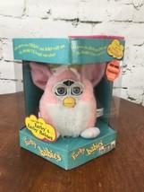 Furby Babies Vintage 1991 NIB Open Box Pink White - $59.39