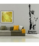 Wall Decal Vinyl Home Decoration Living New York City Sign Statue Of Lib... - $19.42+