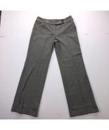 Ann Taylor LOFT Petites Women's Size 6P Gray Casual Straight Pants - $21.76