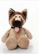 Good Nici Shepherd Wolfhound dog plush toy stuffed doll cartoon animal  ... - $20.36