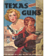TEXAS GUNS aka RANGE JUSTICE - Paul Evan Lehman - 1952 STAR GUIDANCE DIG... - $8.50