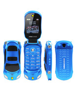 newmind f15 flip blue dual sim sports car model eng+russian arabic key m... - $58.99
