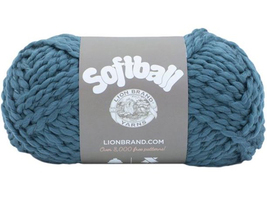 Lion Brand Softball Yarn in Hurricanes #141 - $6.99