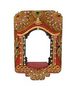Indian Rajasthani Wooden Jharokha Picture Frame Set Display - $16.66