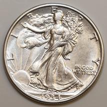 1934 D Walking Liberty Half Dollar - Gem BU / MS / UNC - $185.00