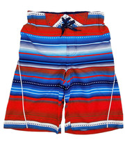 ZeroXposur Boys' Printed Board Shorts Stars Stripes Beach Swim Trunks - S image 2