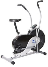 Upright Exercise Bike Body Rider Fan Fitness Stationary Bicycle Cardio W... - $161.78