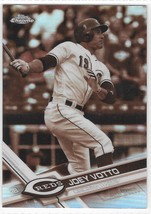 2017 Joey Votto Topps Chrome Sepia Refractors Baseball Card #94 Cincinnati Reds - $4.99