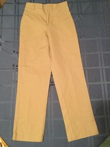 Girls-Size 8 Slim Parker pants/uniform - khaki pants -Great for school - $9.85