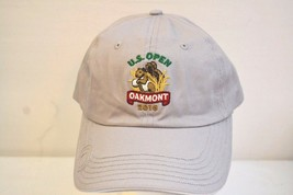 US Open Oakmont 2016 USGA Member Gray Baseball Cap Adjustable Back - $17.99