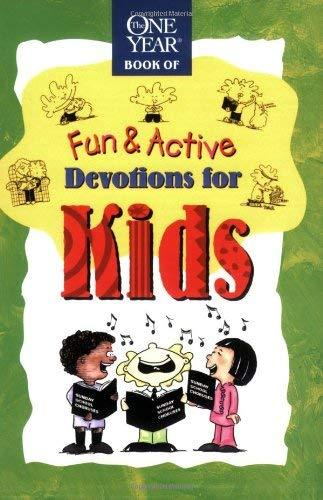 Fun & Active Devotions for Kids (The One Year Book) [Paperback] Lightwave and Li