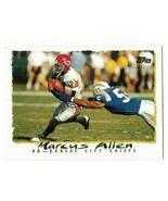 1995 Topps  - KC Chiefs Football Card #121 - Marcus Allen - $1.49
