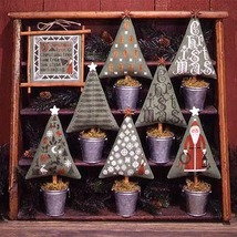 Christmas Trees BK82 REPRINT cross stitch chart Prairie Schooler - $10.80