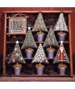 Christmas Trees BK82 REPRINT cross stitch chart Prairie Schooler - $10.80