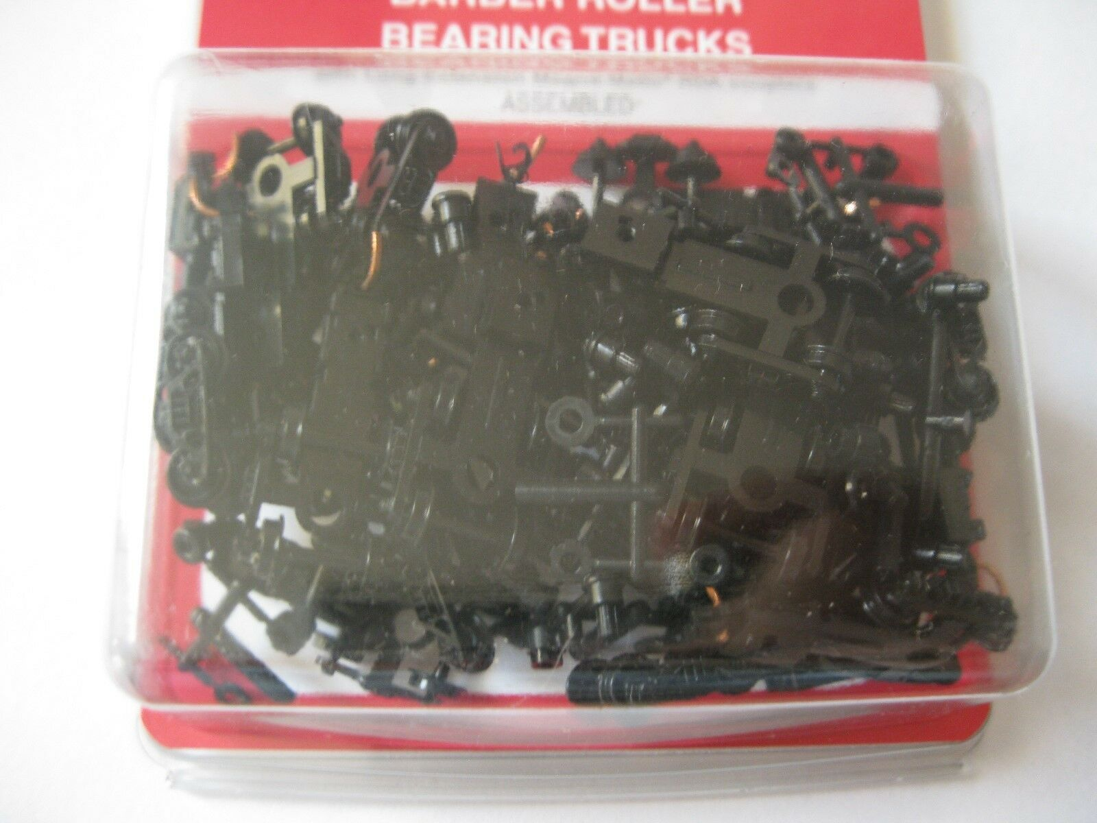 Micro-Trains Stock #00310044  (1038-10) Roller Bearing Trucks Long Couplers