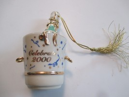 LENOX CHINA CELEBRATE 2000 CHAMPAGNE BUCKET CHR... - $4.94