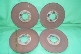 Set Wheel Brake Dust Cover Set Shield 4x108 image 2