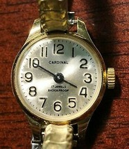 Vintage Cardinal 17 Jewels Women's Watch - Functional - $7.54