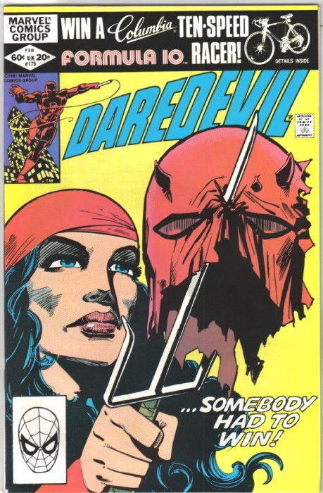 Daredevil Comic Book #179 Marvel Comics 1982 VERY FINE+ NEW UNREAD