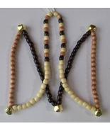 MUSTANG RHYTHM BEADS ~ ALL NATURAL WOOD BEADS ~ Horse Size (Approx. 54 i... - $19.00
