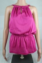 Calvin Klein women's top sleeveless pink glitter size S/P - $18.99