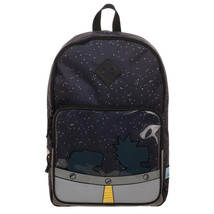 Cartoon Network Rick And Morty UFO Backpack Black - $66.98