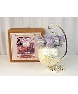 2001 Grandeur Noel Glass Ornament with Display Stand Collector's Edition... - $9.99