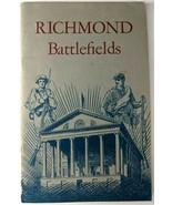 Richmond National Battlefield Park by Joseph P. Cullen 1961 Military Han... - $12.59