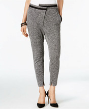 NWT ANNE KLEIN BLACK MELANGE CASUAL SLIMMING PANTS SIZE 10 $99 - $29.99