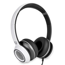 Monster N-Tune High Performance On-Ear Headphones w/3.5mm Plug(Frost White) - $37.17