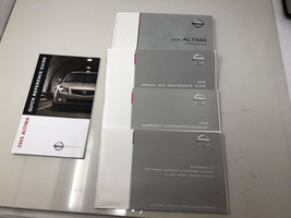 2005 Nissan Altima Owners Manual Set with Case Handbook OEM Z0B12 - $13.43