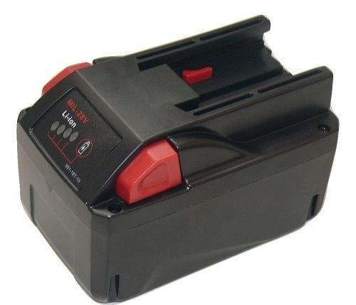 Replacement Battery For Milwaukee M28 28V 48-11-2830 RED LITHIUM ion Battery-2YR - $86.15
