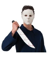 Michael Myers 3/4 vinyl Mask Adult Costume Accessory Free Shipping - $15.88